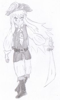 Contest Entry- InuYasha Pirate by xakana