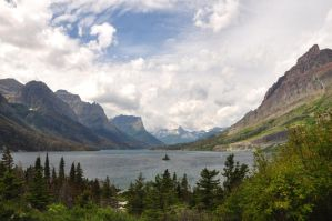 Saint Mary Lake by BeachGirlNikita