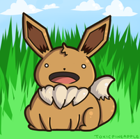 Eevee~ by RawrPotato