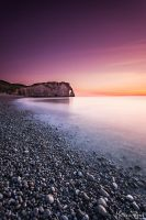 Etretat by Makavelie