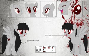 Foreshadow ~Official Character Ref~ by Winter-Wondermare