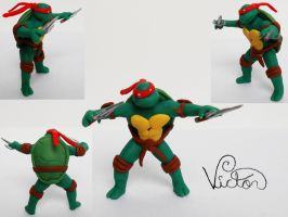 Raphael tmnt by VictorCustomizer