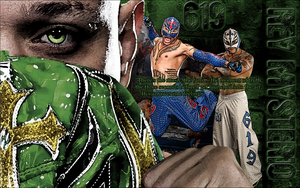 Rey Mysterio Wallpaper by Claine89