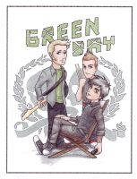 Green Day Page Colored by kelly42fox