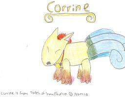 Corrine for SpyHunter89 by PsychoDemonFox
