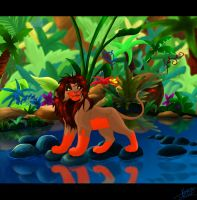 In the Jungle by KingSimba