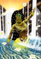 Oxum God of the Rivers by mantoano