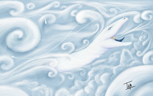 Cloud Dragon by TamHorse