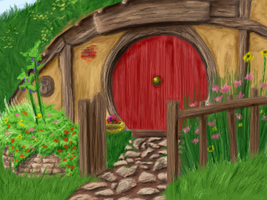 My own hobbit hole by spamsama