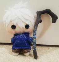 Jack Frost Felt Doll by Cocomallows