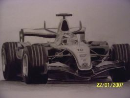 Formula One - Mclaren F1 Car by PhileepoF1