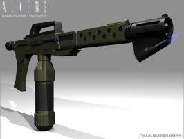 M240 Flamethrower by paulelder