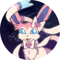 sylveon badge/pin by mechanicalmasochist