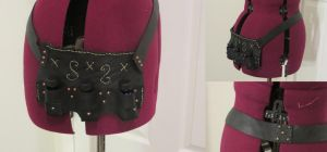 Steampunk Potion Belt by Nerds-and-Corsets