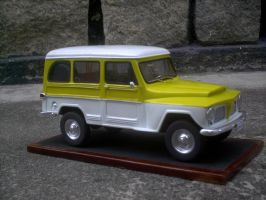 Handmade automobile miniature by dederezende