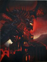 WoW- Deathwing The Destroyer by KIZZA-1