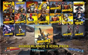 Borderlands 2 icon Pack by Kalca