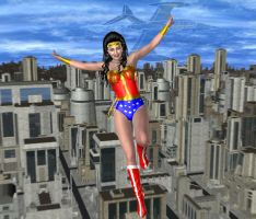 Super Friends 3: Wonder Woman by kevmann