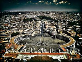 St. Peters Square by Phil-Kay