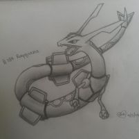 #384 Rayquaza by Bluekiss131