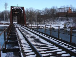 Fox River Railroad Trestle 09 by FantasyStock