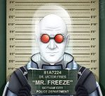 Gotham City Mugshots - Mr. Freeze by Costalonga