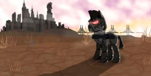 Fallout Equestria - Steelhooves by TheAstralWanderer