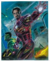 Iron Man and Hulk by dtor91