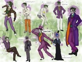 Joker's appearances by Mayshha