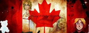 Canada Day FB Cover by JapaneseRedWolf