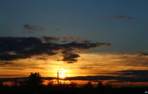 Warm Spring Sunset by LifeThroughALens84