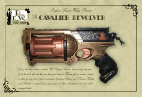 The Cavalier Revolver by davincisghost
