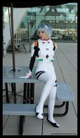 Otakon 2011 - Eva 07 by greenjinjo