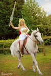 She-ra cosplay by adami-langley