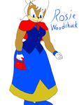 Rosie Woodchuck by Falconpawnch7