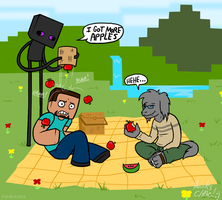 Commission - Chaz's Picnic by The-Greys
