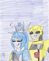 Lightning and her brothers by ToniMizukiPrime