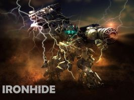 Edited picture of Ironhide by Skrillexia-TF