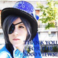 Thank You For The 4000 Views! by AkumaNekoLMD