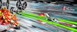 Battle of Yavin:Defends the death star. by Tiefgrund