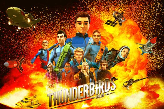 Thunderbirds Are Go! 2017 poster by stick-man-11