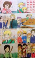 Did I just drew Hetalia in my French book? by Dhanica02