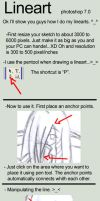 Lineart Tutorial daw? XP by Xenosnake