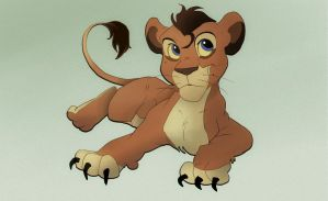 Very kind lion cub if you wanna adopt :D [ closed] by pokrzyva