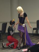 Matsuricon 2013 - Rose Lalonde and Kanaya Maryam by Kamara666
