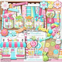 SCRAP KIT NitWit Confection by Xu-Lena