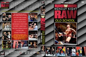 WWE Raw Old School 2014 DVD Cover by Chirantha