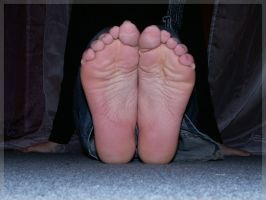 My sweaty soles 01 by foot-portrait