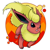 Flareon by OminousOniBi