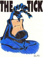 The Tick by marzinuyasha